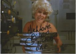 Barbara Windsor (1937 2020) Actress Signed Carry On Photo. Good condition. All autographs come