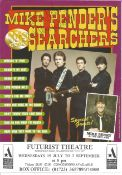 Mike Pender Singer Signed Searchers Promo Flyer. Good condition. All autographs come with a