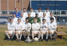 Autographed Leeds United 12 X 8 Photo Col, Depicting Leeds United's 1969/70 First Division Winning