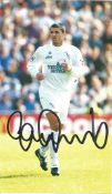 Gary Speed (1969 2011) Signed Leeds United Picture. Good condition. All autographs come with a