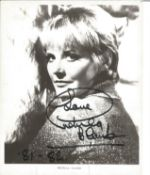 Petula Clark Singer Signed Vintage 8x10 Promo Photo. Good condition. All autographs come with a