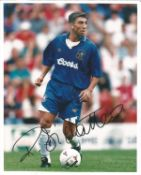 Roberto Di Matteo Signed Chelsea 8x10 Photo. Good condition. All autographs come with a