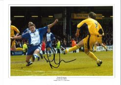 Dougie Freedman Crystal Palace Signed 16 x 12 inch football photo. Good condition. All autographs