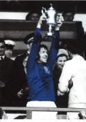John Greig Rangers Signed 16 x 12 inch football photo. Good condition. All autographs come with a