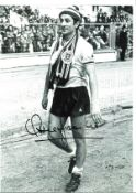Ossie Ardiles Tottenham Signed 16 x 12 inch football photo. Good condition. All autographs come with