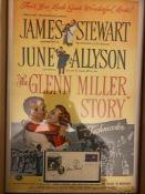 James Stewart signed Superb 22x15 inch display