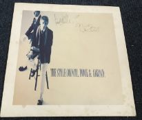 The Style Council Home and Abroad signed 33rpm record cover.