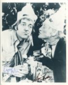 Steptoe and Son photo signed by Ray Galton and Alan Simpson