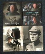 Star Wars Julian Glover signed collection