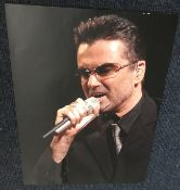 George Michael music signed photo