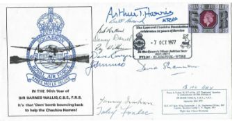 WW2 rare Multiple signed Dambusters cover.