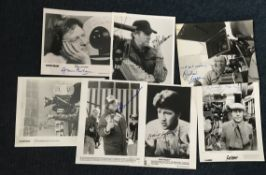 Film directors signed photo collection.