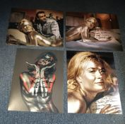 James Bond Goldfinger Shirley Eaton signed photo collection