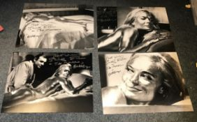 Shirley Eaton James Bond Goldfinger signed photo collection.