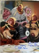The Banana Splits photo signed by Terry Winkless Robert Towers Daniel Owen