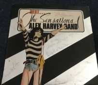 The Sensational Alex Harvey band signed 33rpm record sleeve