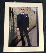 Paul Weller music signed 16 x 12 inch colour photo