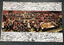 Labour Politicians multiple signed photo