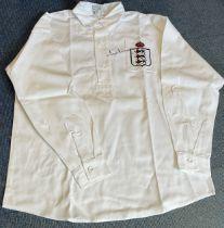 Football Tom Finney signed retro England home shirt. Good condition. All autographs come with a