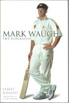 Mark Waugh The Biography. Signed hardback book with dust jacket published in 2002 in Australia 381