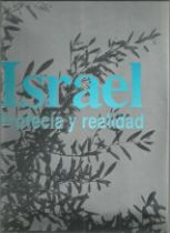 Israel by Profecia Y Realidad. Large hard back book in Spanish. Large hardback book with dust jacket