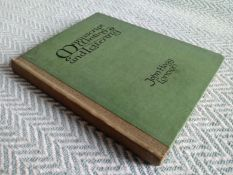 Manuscript Writing And Lettering 1918 hardback book 163 pages with inscription on inside page
