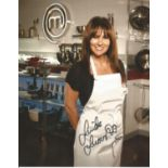 Linda Lusardi signed 10x8 colour image. Good condition. All autographs come with a Certificate of