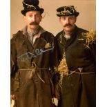 All Allo 8x10 comedy series photo signed by actor John D Collins as the escaped RAF pilot. Good