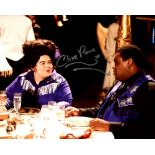 Doctor Who 8x10 inch photo scene signed by actor Clive Rowe who played Morvin Van Hoff. Good