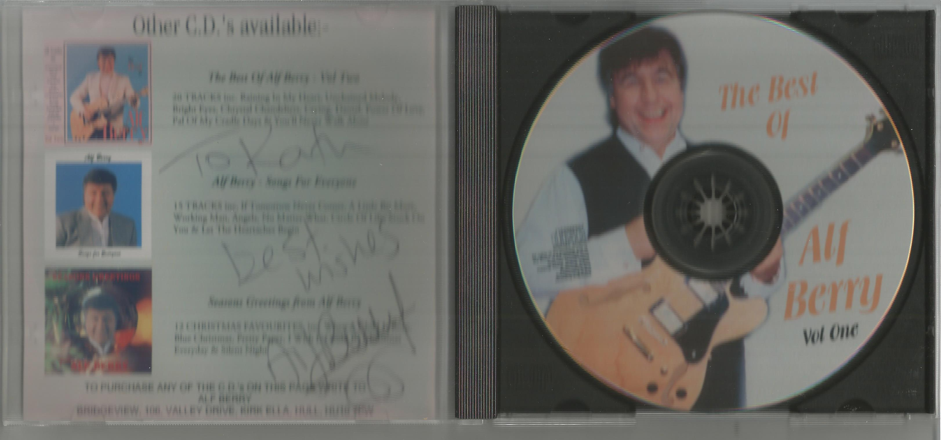 6 Signed CDs Including Michael Graham (Inspirations) Disc Included, Hazel O'Connor (The Bluja