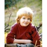 Hayley Mills. Nice 8x10 portrait photo signed by TV and Film star Hayley Mills. Good condition.