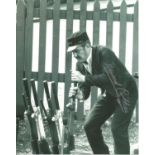 Bernard Cribbins signed 10x8 black and white image. Bernard is well known for being a star on the