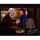 Doctor Who Jill Curzon signed. 8x10 inch photo from Doctor Who Invasion Earth signed by actress Jill
