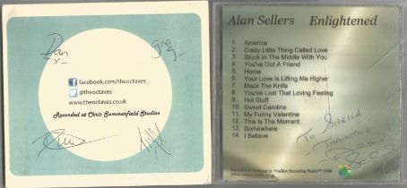 6 Signed CDs Including John Innes (Songs of Romance) Disc Included, The Octaves (Acapella and