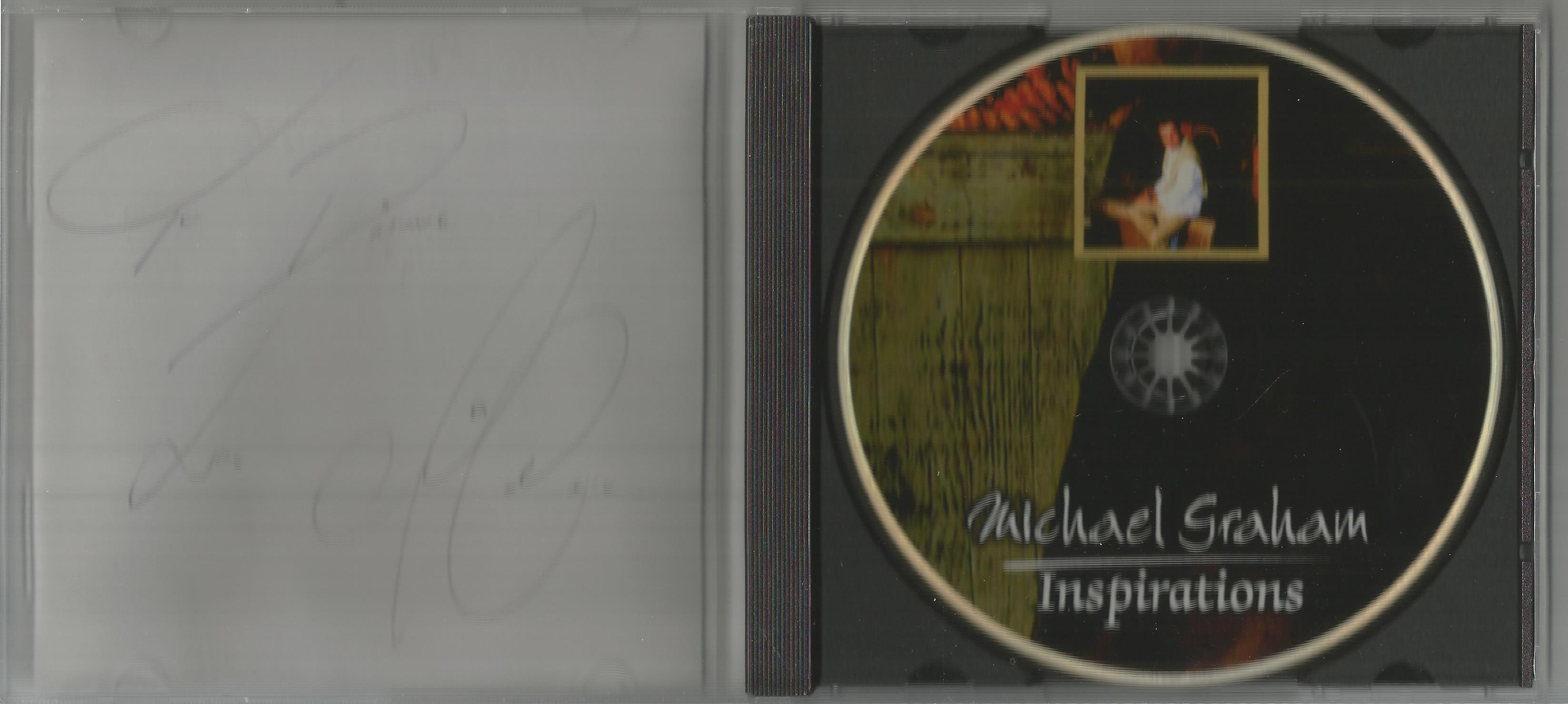 6 Signed CDs Including Michael Graham (Inspirations) Disc Included, Hazel O'Connor (The Bluja - Image 6 of 6
