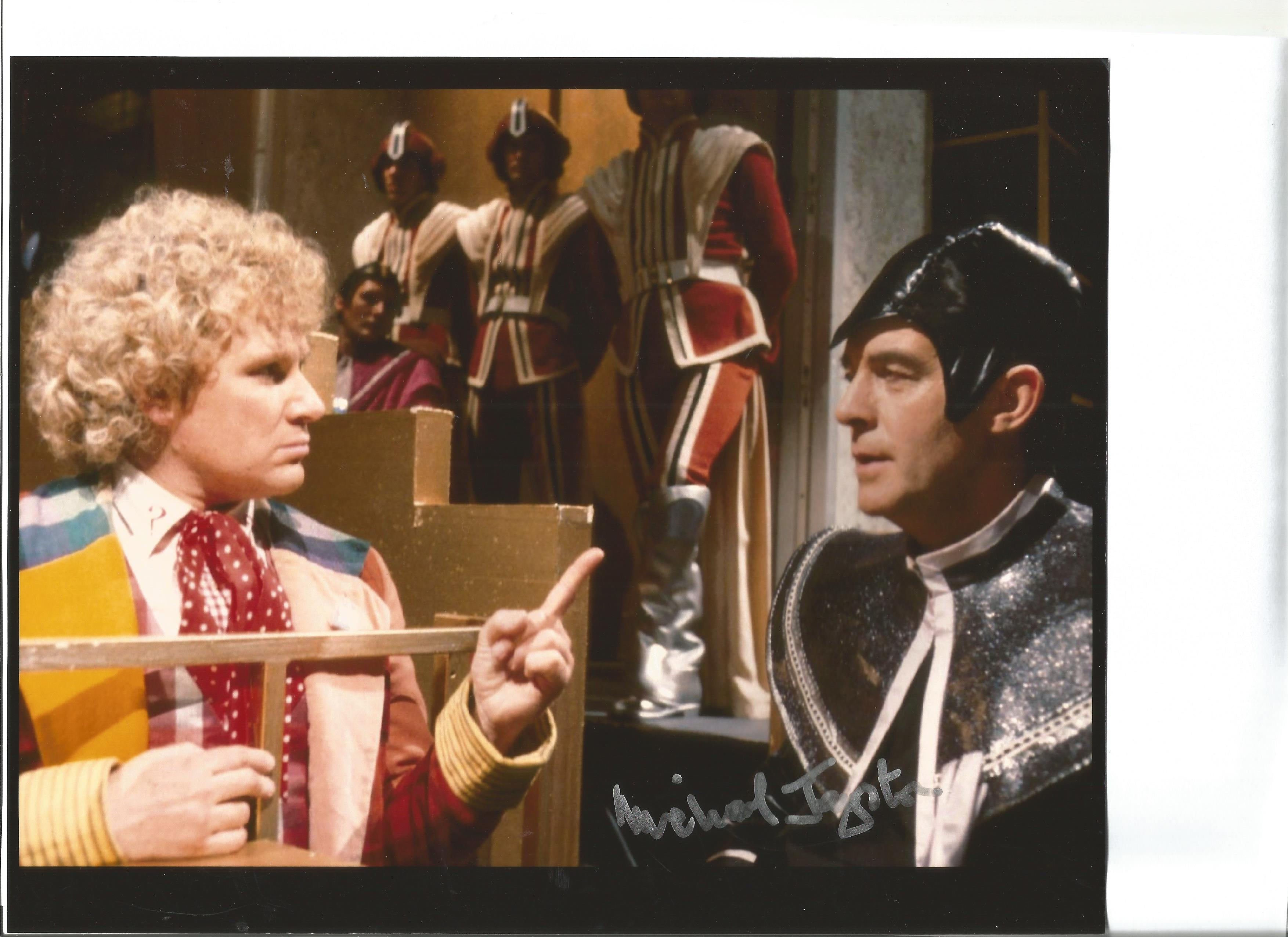 Dr Who Michael Jayston signed 10x8 inch colour photo. Good condition. All autographs come with a