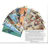 Collection over 180 Liebig Cards in Leaves 34 Sets from the 1950s and 1960s Including Jet