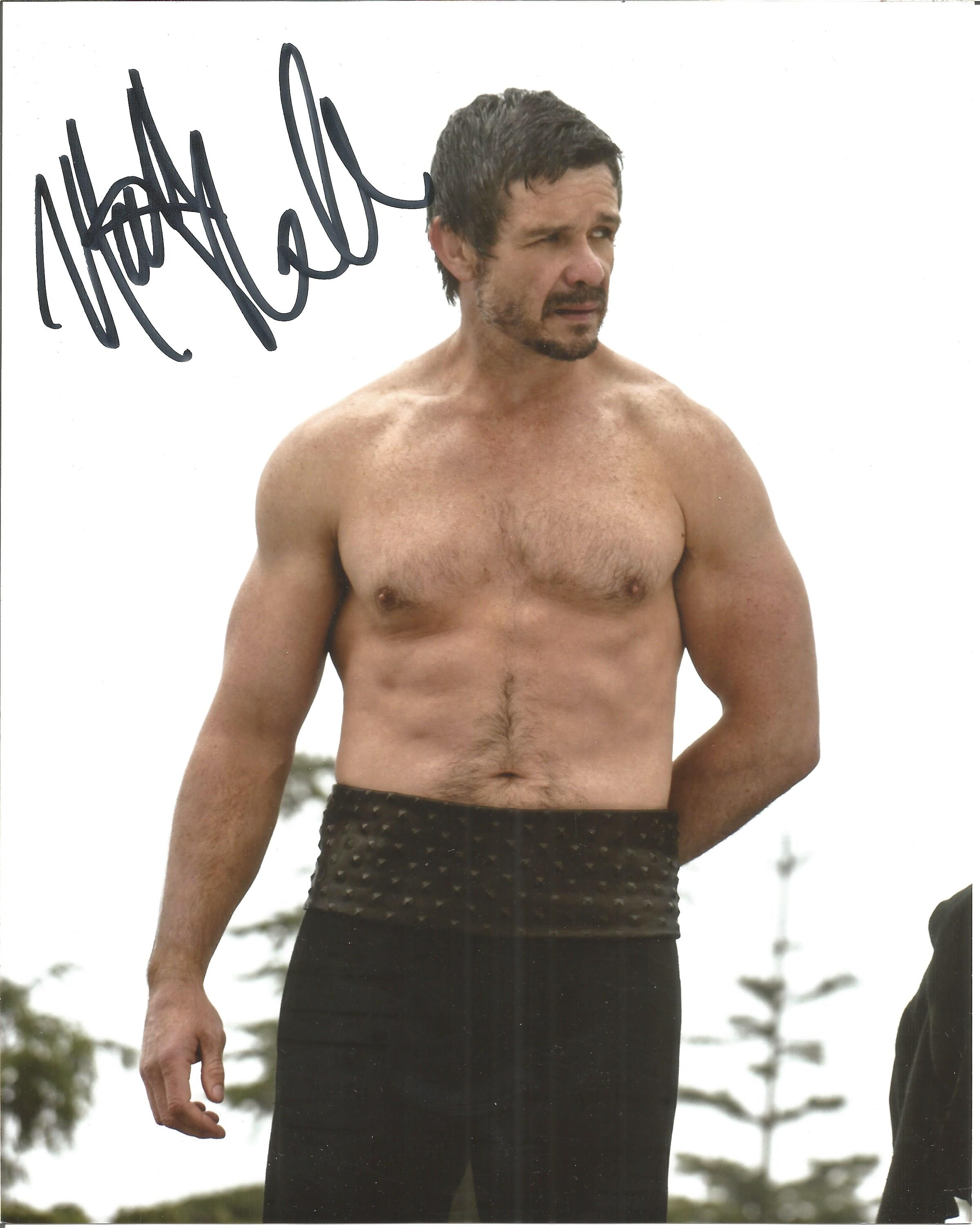 Matthew Nable signed 10x8 colour image. Matthew is a famous television and film actor he appeared on