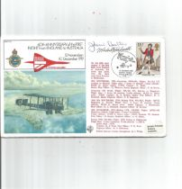 FDC to commemorate the 60th anniversary of the first flight from England to Australia 12th
