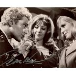 Where Eagles Dare. 8x10 photo from the British war movie Where Eagles Dare signed by actor Derren