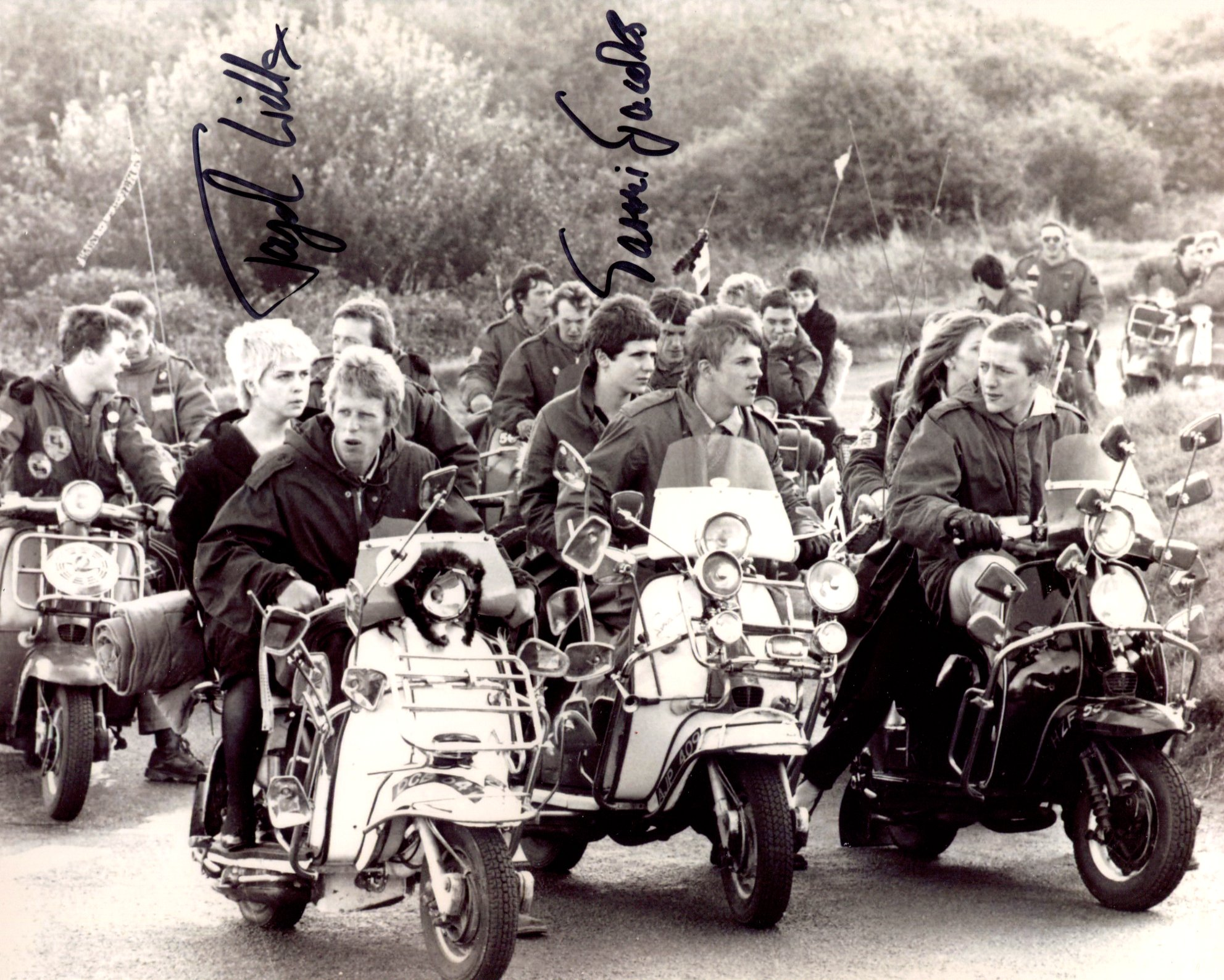 Quadrophenia. Nice 8x10 photo signed by pop star and Quadrophenia actress Toyah Willcox and