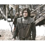 Kit Harington signed 10x8 colour image. Image was taken during Kits role as Jon Snow on popular