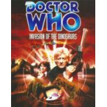 Peter Miles signed 10x8 colour image. Image taken from Peter's appearance on Doctor Who. Good