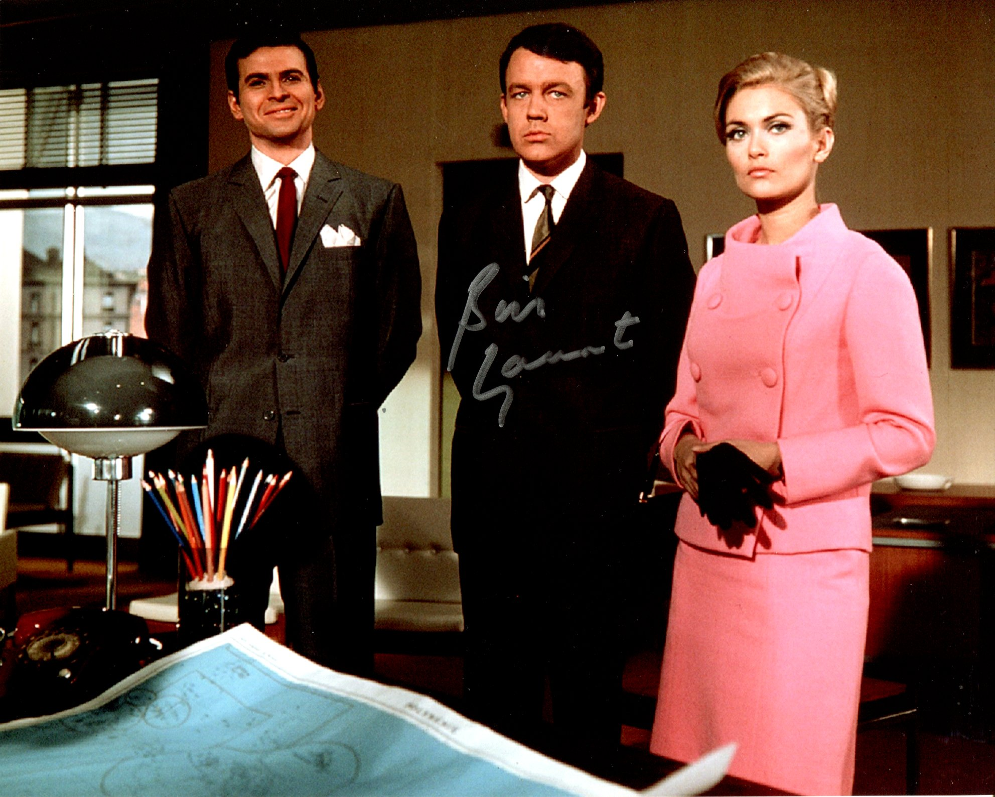 The Champions, nice 8x10 photo from the cult sci fi series 'The Champions' signed by actor William