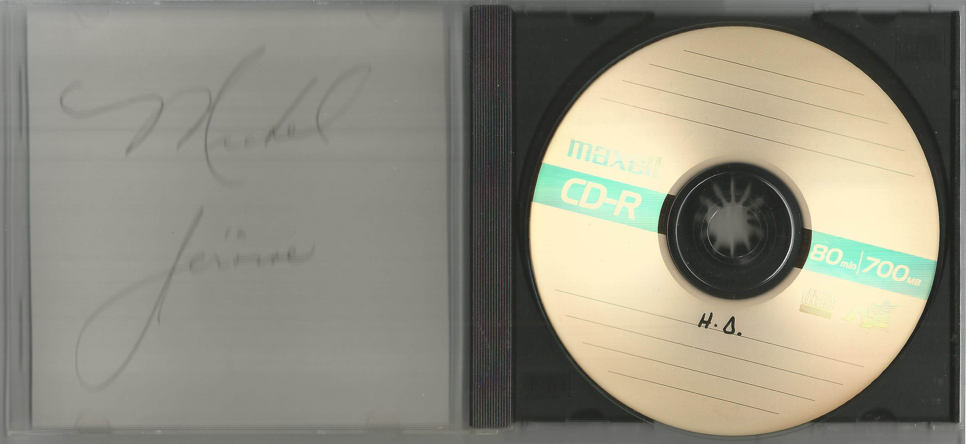 6 Signed CDs Including Michael Graham (Inspirations) Disc Included, Hazel O'Connor (The Bluja - Image 2 of 6