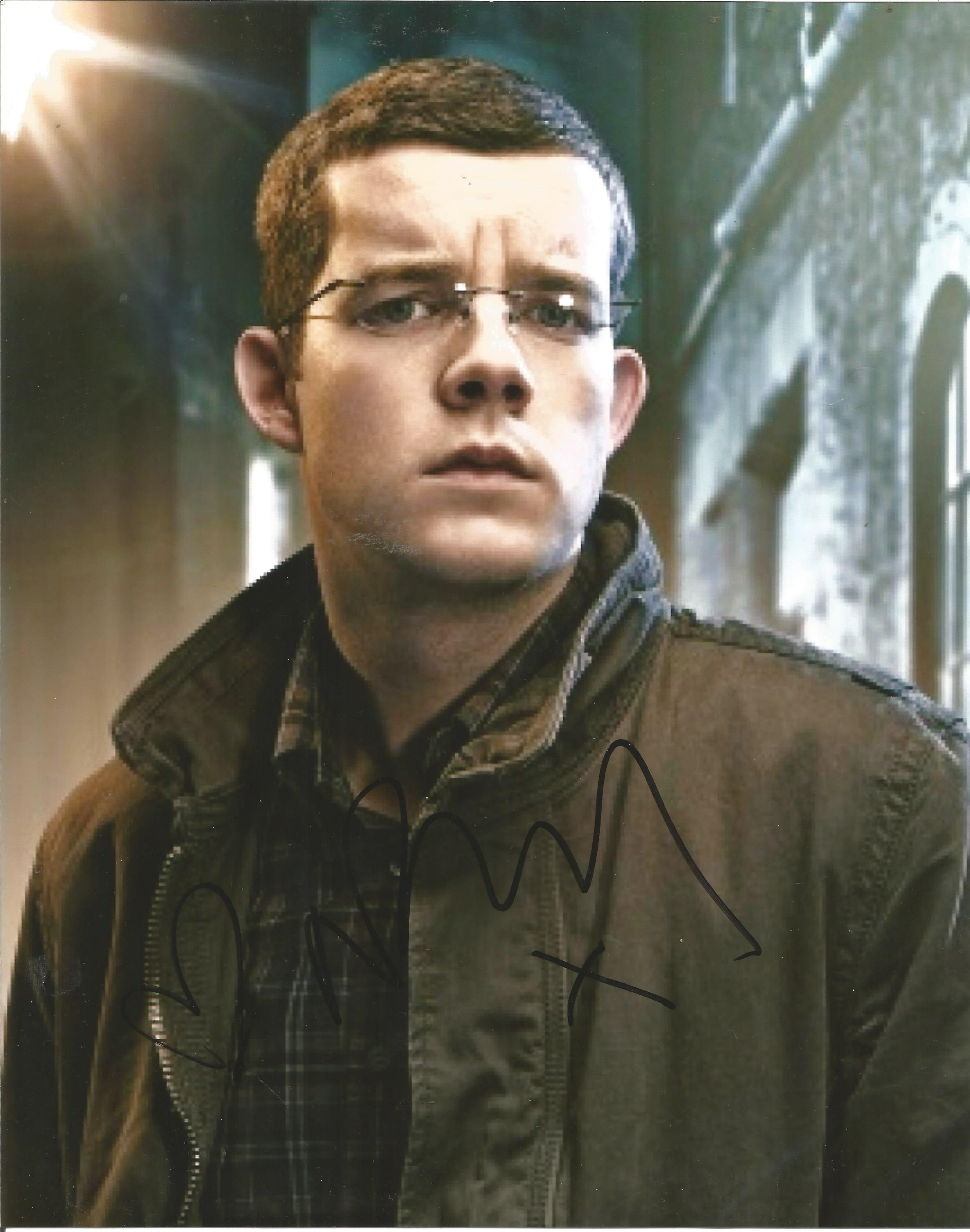 Russell Tovey signed 10x8 colour image featuring him in a pair of spectacles. Russell is a British