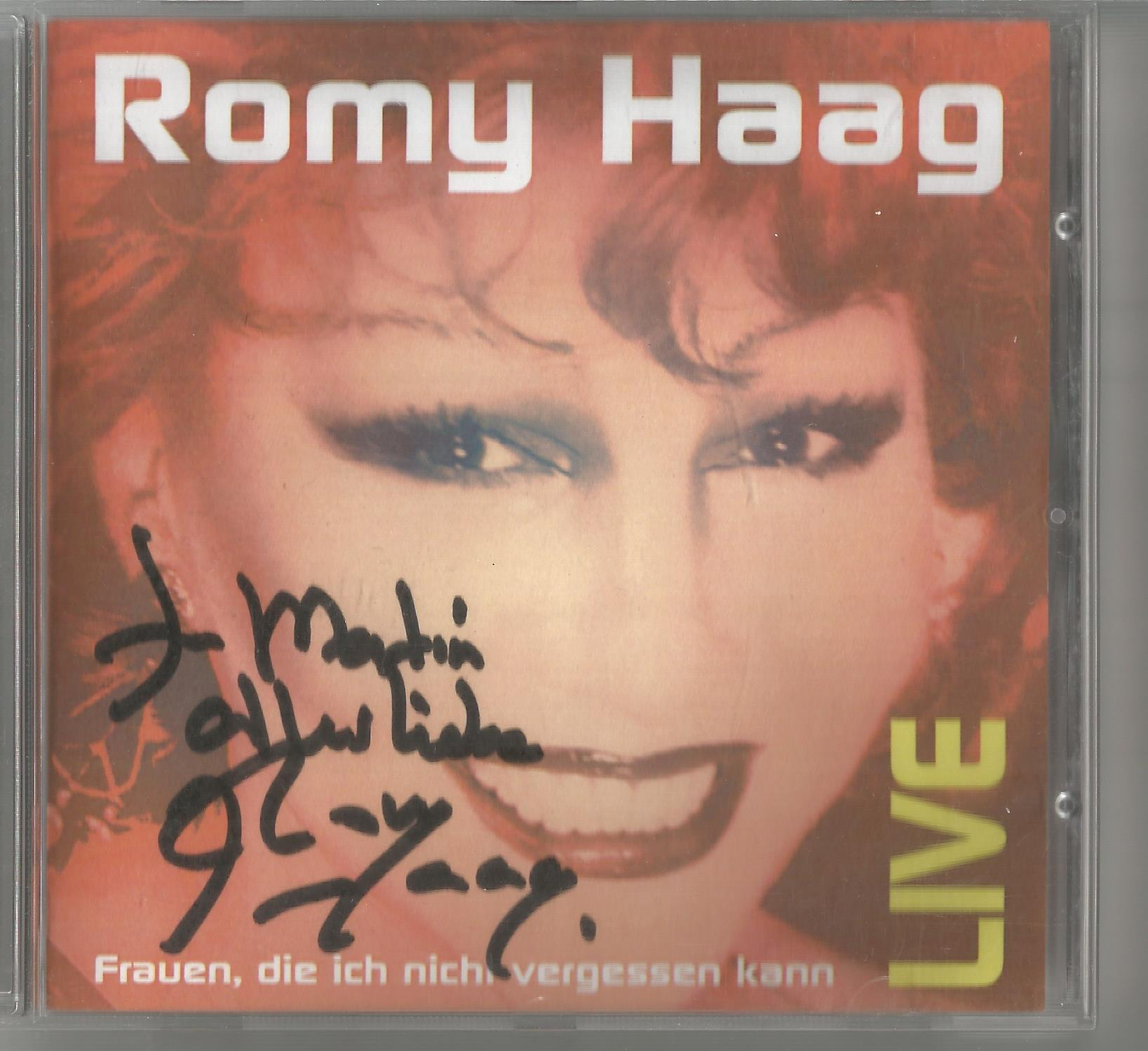6 Signed CDs Including Michael Graham (Inspirations) Disc Included, Hazel O'Connor (The Bluja - Image 5 of 6