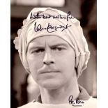 Dads Army 8x10 comedy scene photo signed by actor Ian Lavender who played Private Pike in the