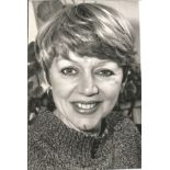 Carole Hawkins signed 6 x 4 inch b/w photo. Good Condition. All autographs come with a