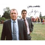 Midsomer Murders 8x10 photo signed by John Nettles and John Hopkins. Good condition. All